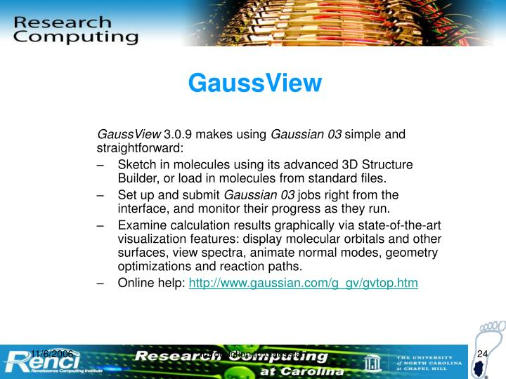 GaussView