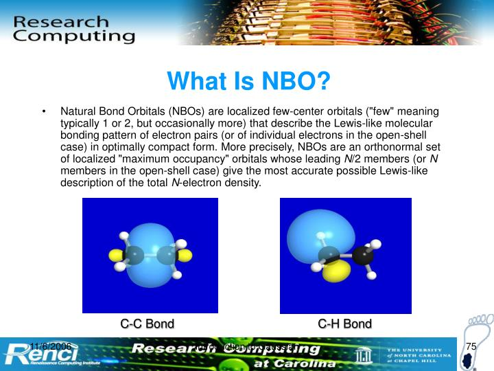 What Is NBO?