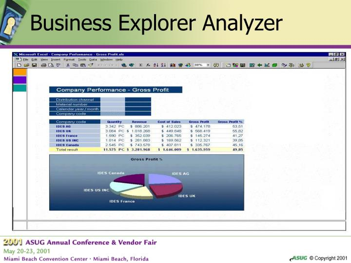 Business Explorer Analyzer