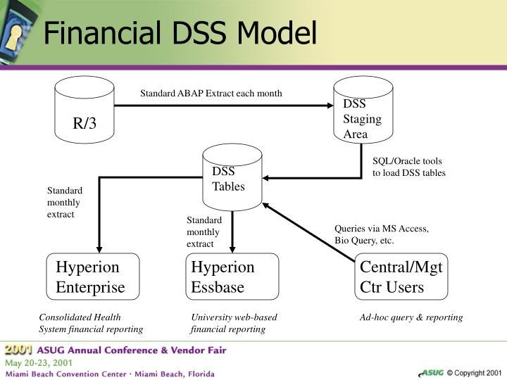 Financial DSS Model