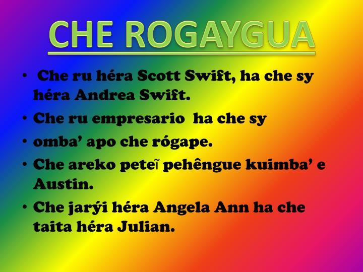 CHE ROGAYGUA