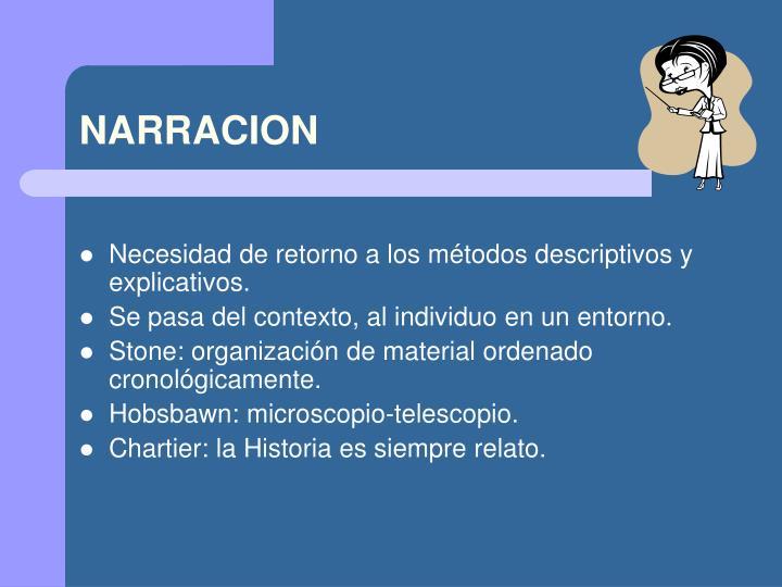 NARRACION