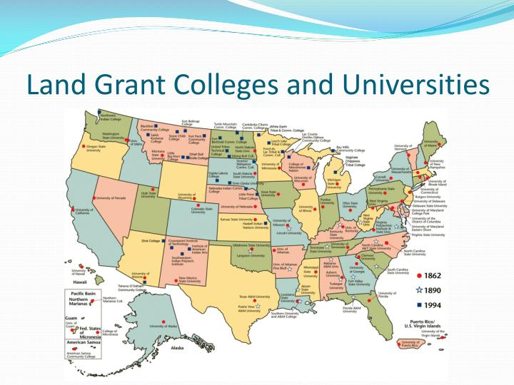 Land Grant Colleges and Universities