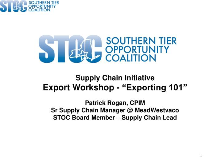 Supply Chain Initiative
