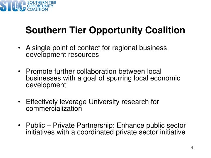 Southern Tier Opportunity Coalition