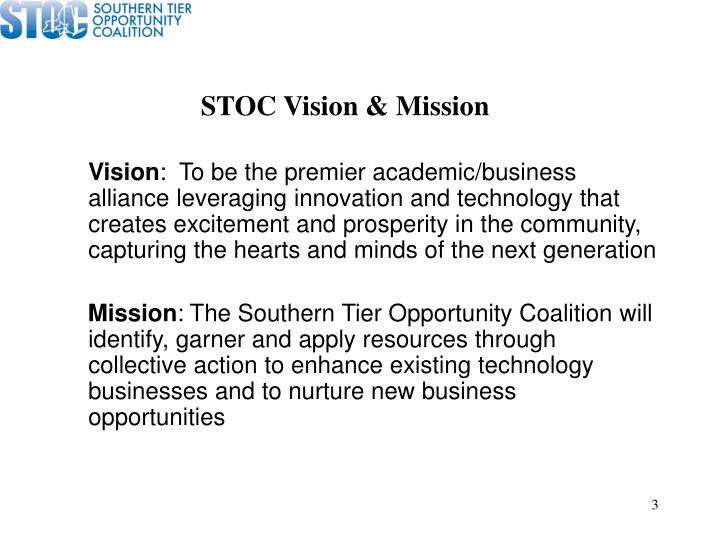 STOC Vision & Mission