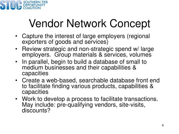 Vendor Network Concept