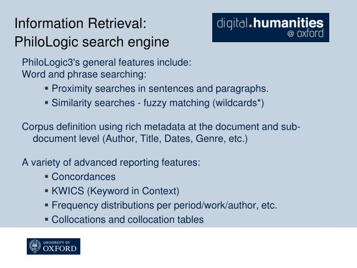 Information Retrieval: