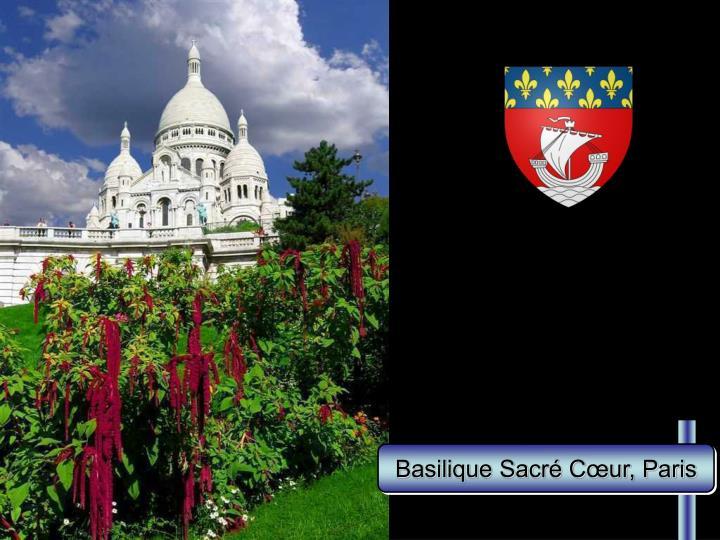 Basilique Sacré Cœur, Paris