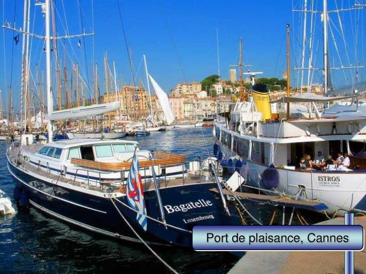 Port de plaisance, Cannes
