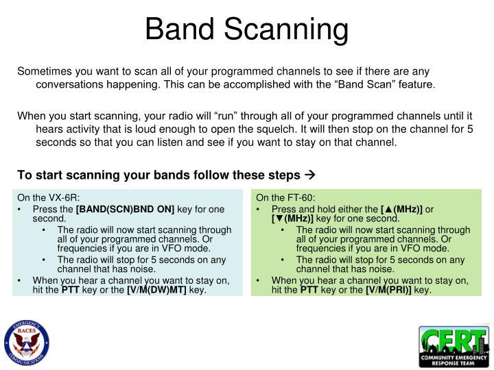 Band Scanning