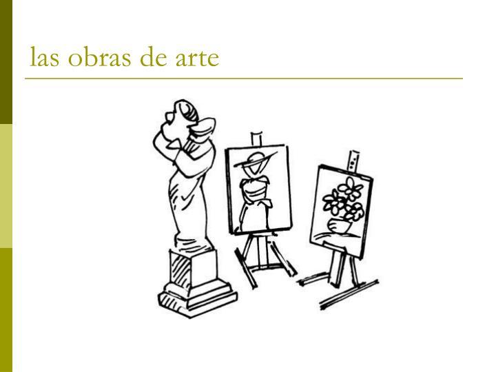 las obras de arte
