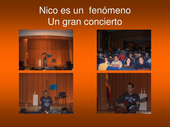 Nico es un  fenómeno