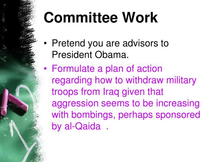Committee Work