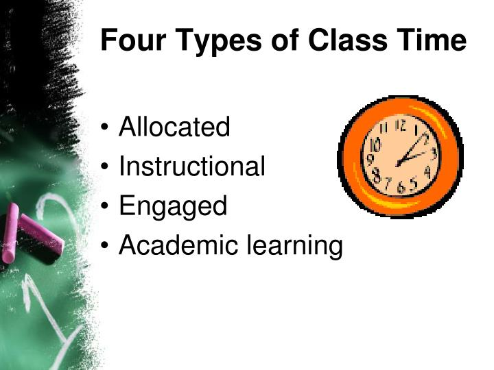 Four Types of Class Time