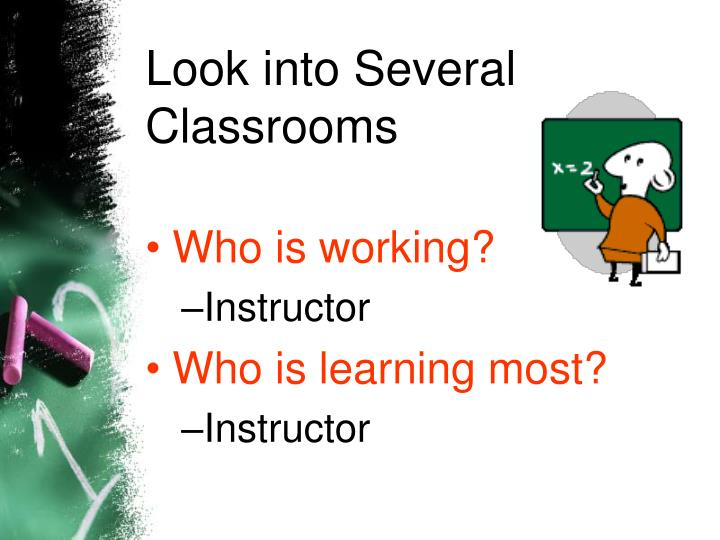 Look into Several Classrooms