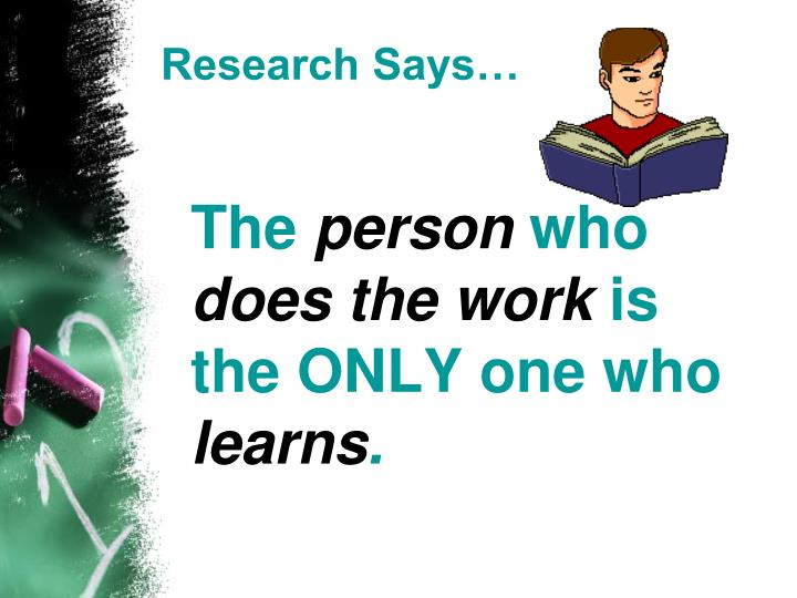 Research Says…
