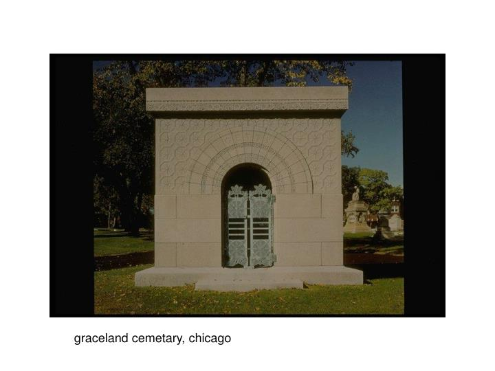 graceland cemetary, chicago