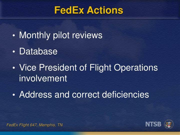 FedEx Actions
