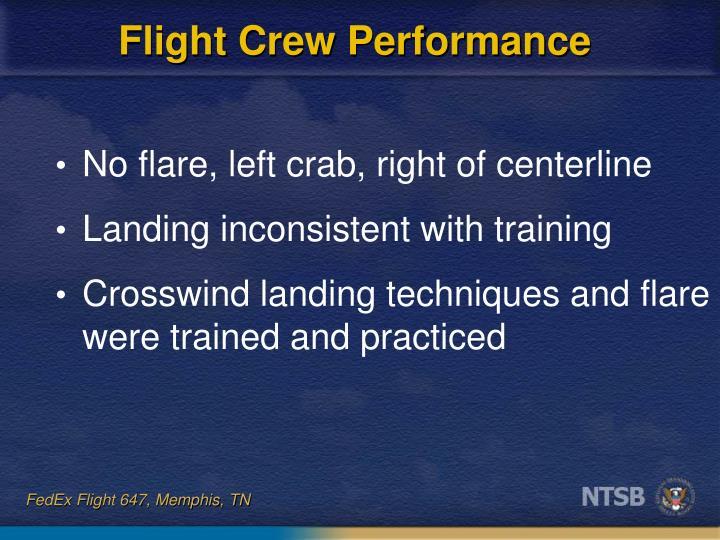 Flight Crew Performance