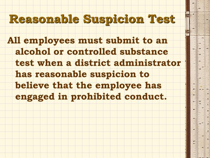 PPT - 2Alcohol/Drug-Free Workplace Administrative Policy ...