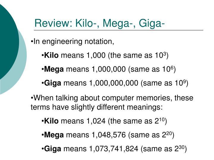 Review: Kilo-