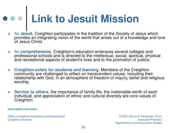 Link to Jesuit Mission