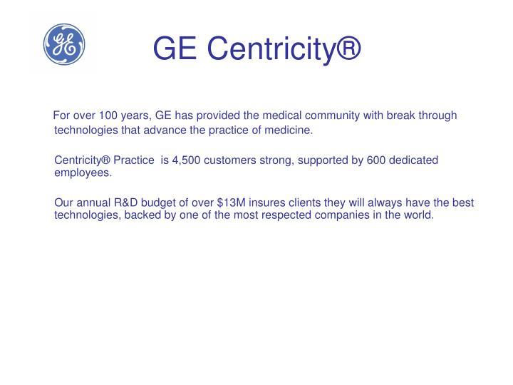 GE Centricity®