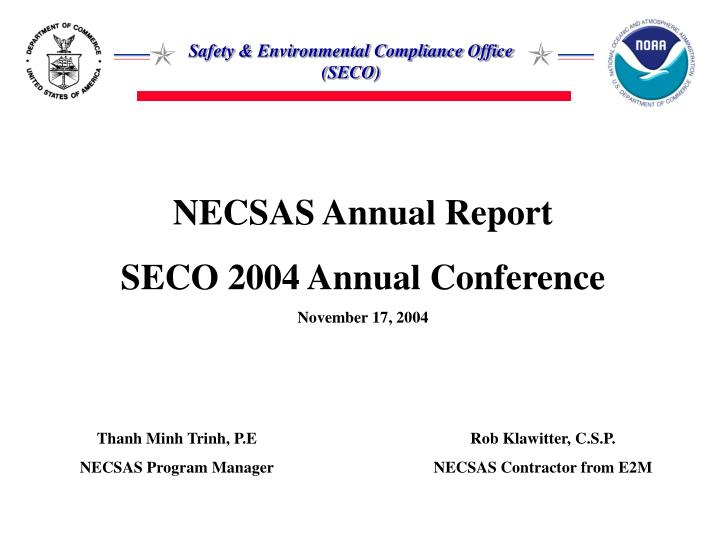 NECSAS Annual Report