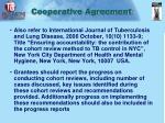 cooperative agreement1