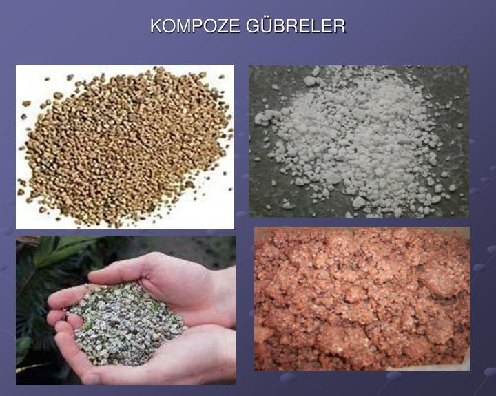 KOMPOZE GÜBRELER