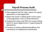 payroll process audit1