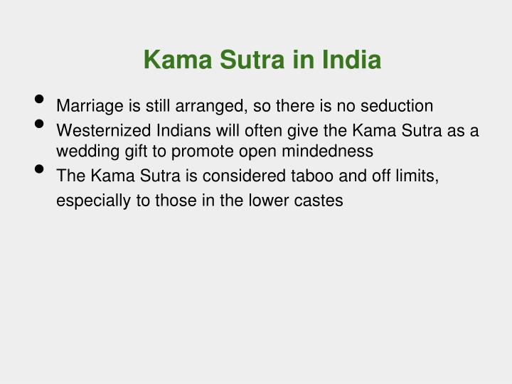 Kama Sutra in India