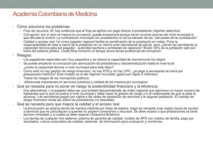 Academia Colombiana de Medicina