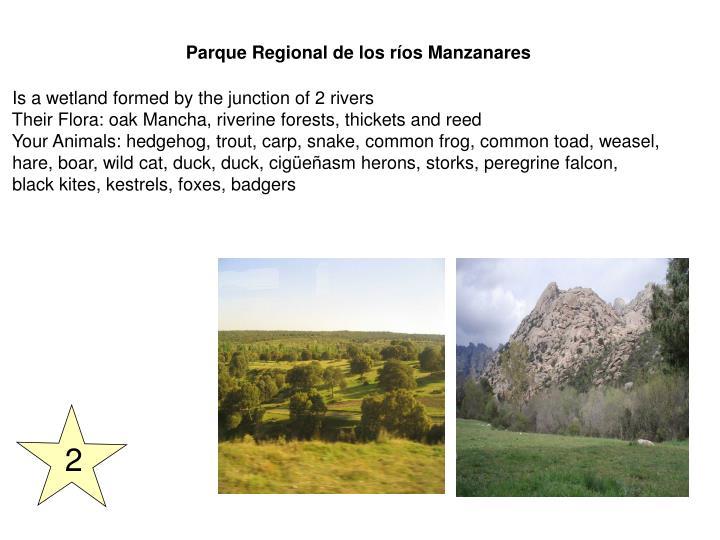 Parque Regional de los ríos Manzanares