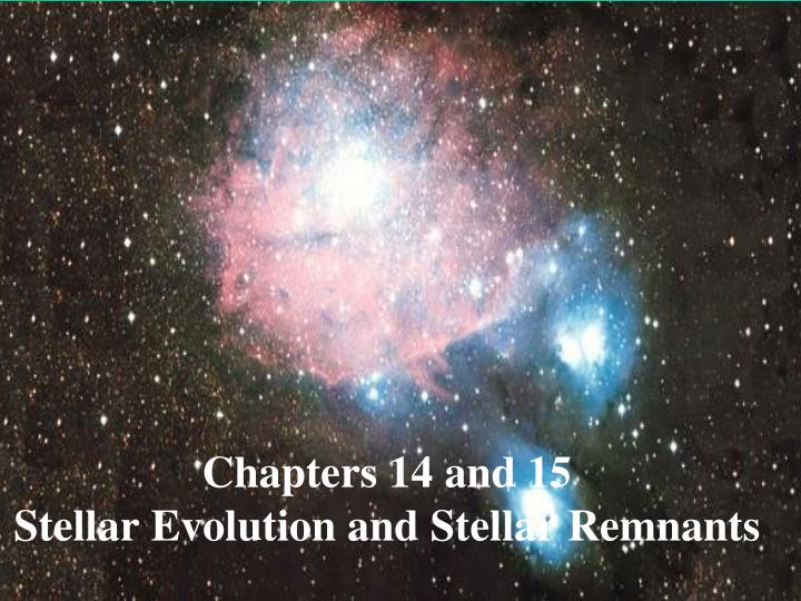 Chapters 14 and 15