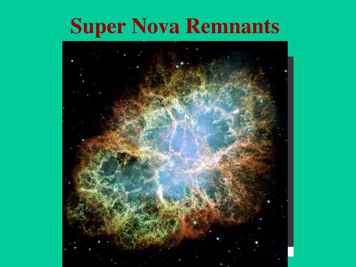 Super Nova Remnants