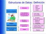 estructuras de datos definici n1