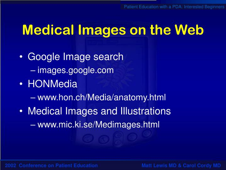Medical Images on the Web