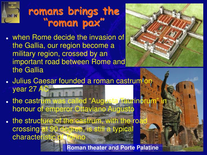 romans brings the