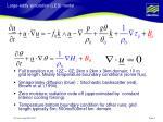 large eddy simulation les model