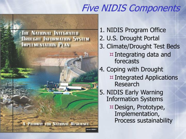Five NIDIS Components