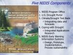 five nidis components