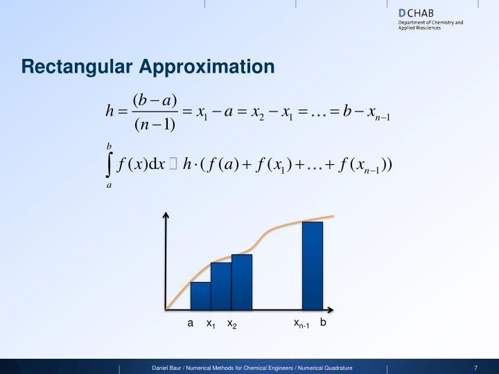 Rectangular Approximation