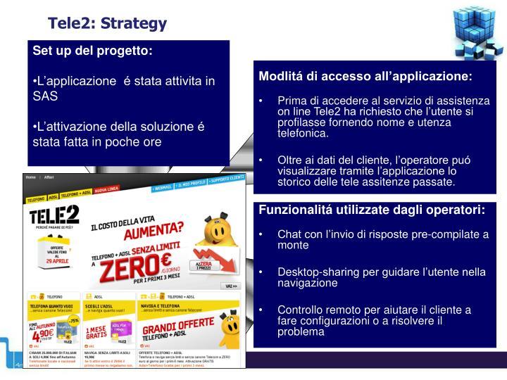 Tele2: Strategy