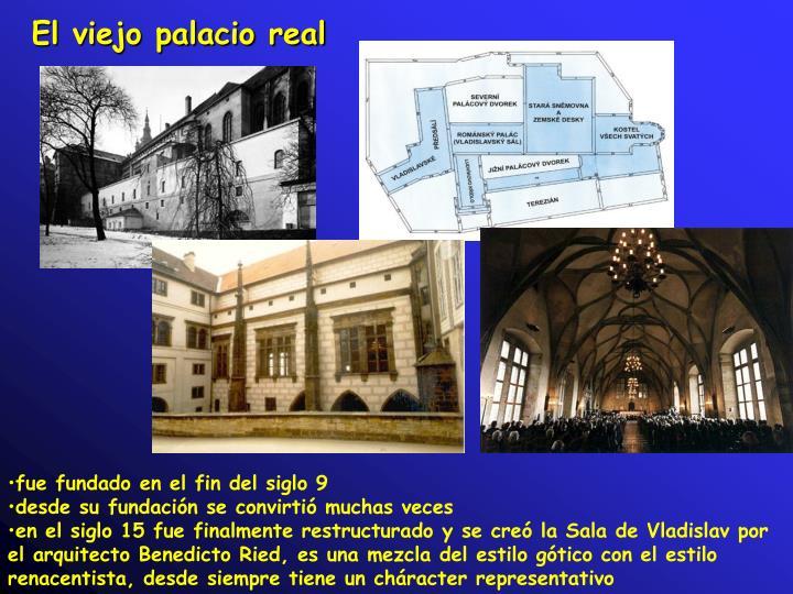 El viejo palacio real