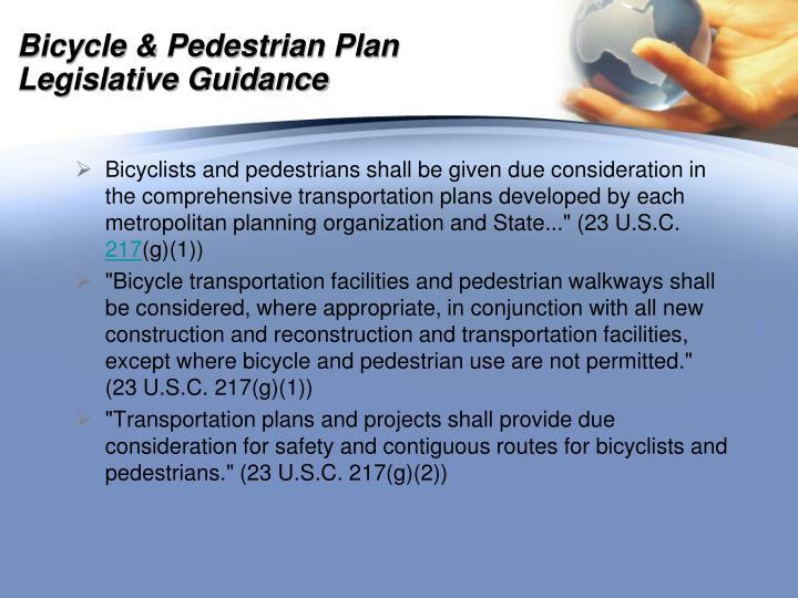 Bicycle & Pedestrian Plan