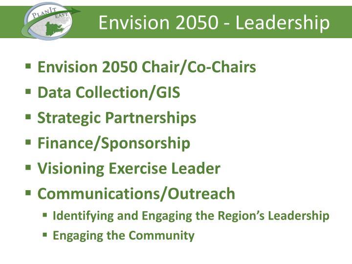 Envision 2050 - Leadership