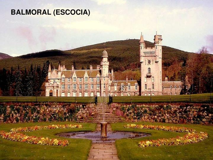 BALMORAL (ESCOCIA)