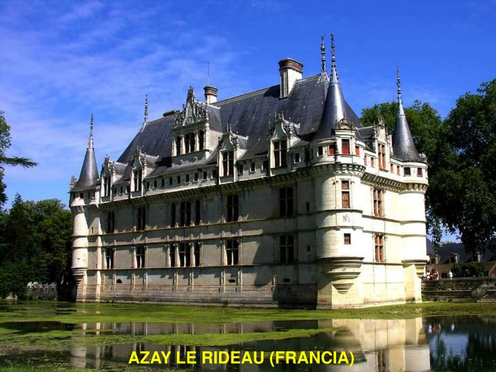 AZAY LE RIDEAU (FRANCIA)